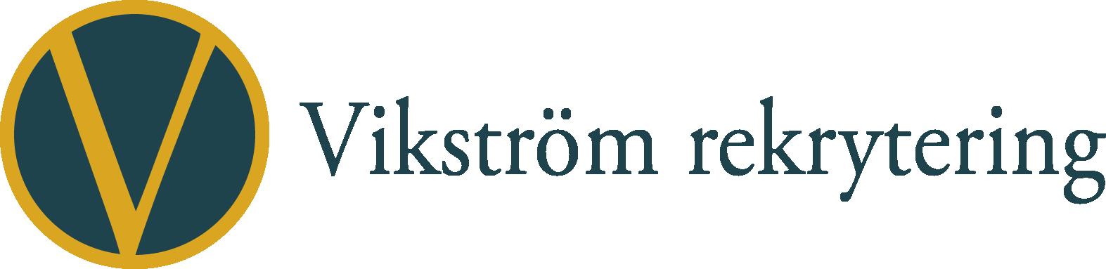 Vikström rekrytering logotyp